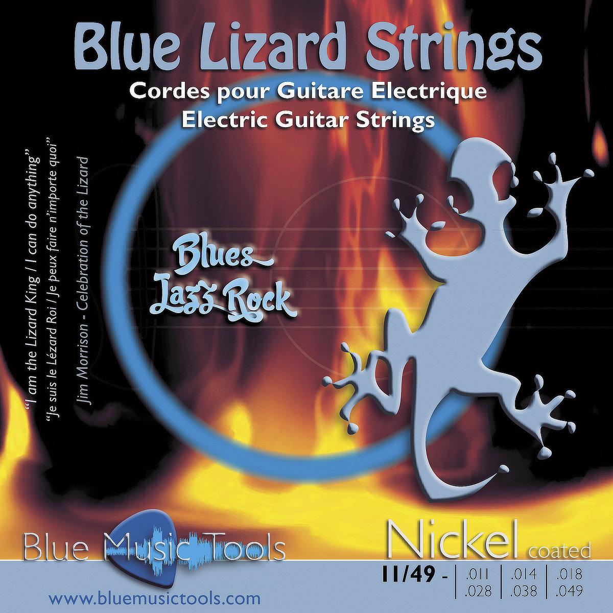Cordes pour guitares électriques 11/49