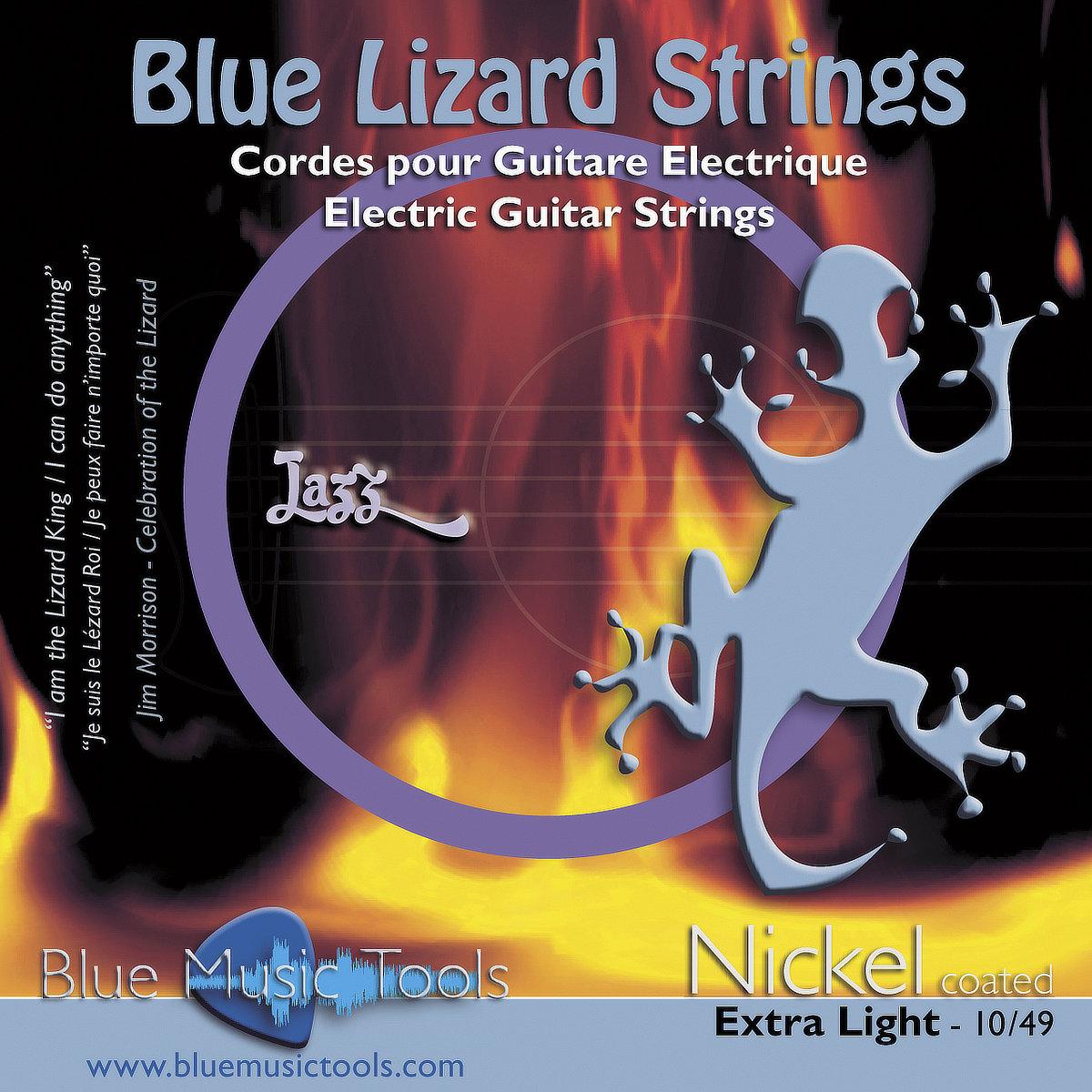 Cordes pour guitares électriques 10/49