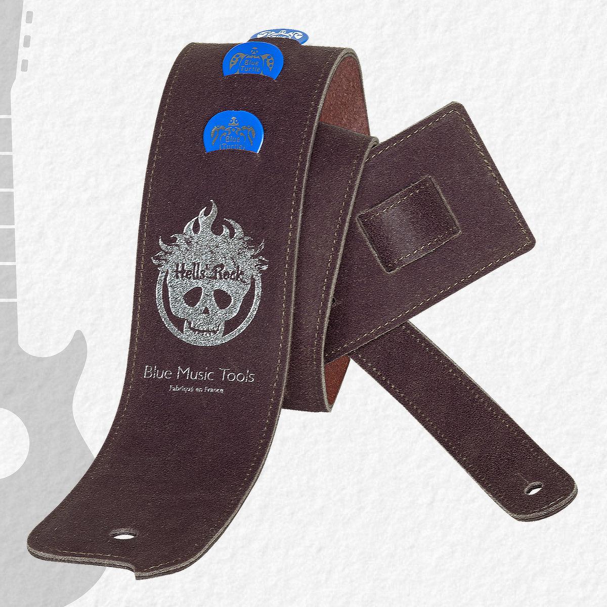 Sangle guitares & basses Blue Buffalo Hells' Rock