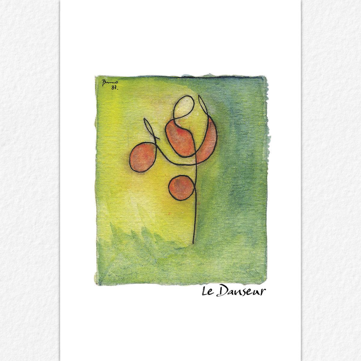 Le Danseur - carte postale
