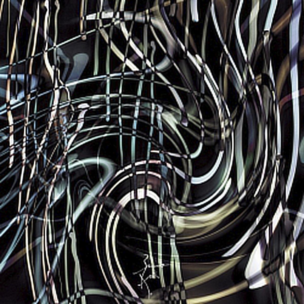 Peinture numérique Jungle. Série Chronoschromaties.