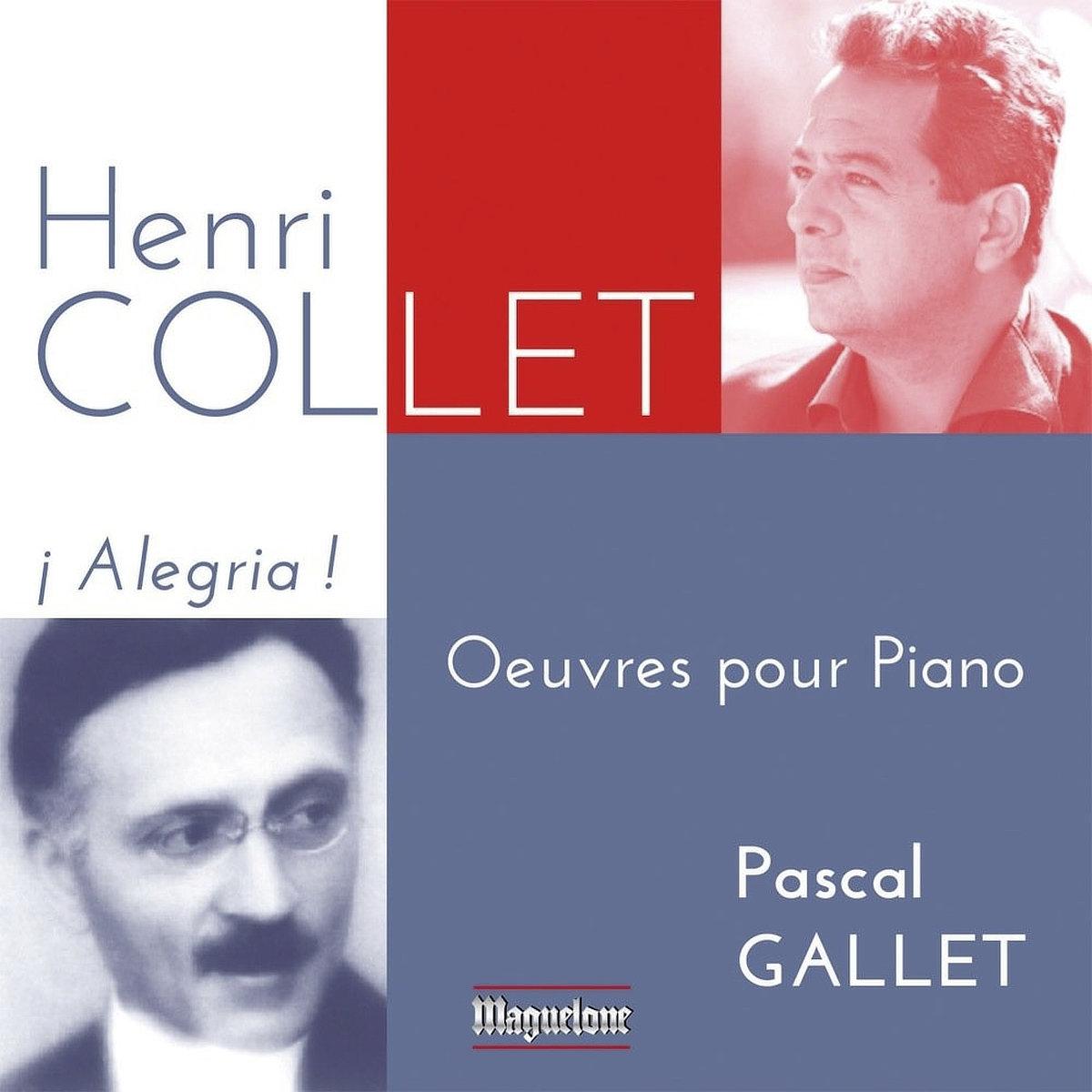 Henri Collet - Œuvres pour piano