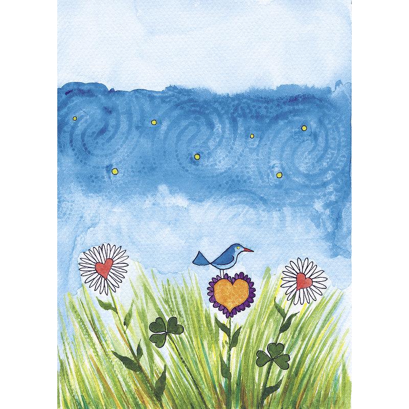 Aquarelle Blue Anec'Dots.