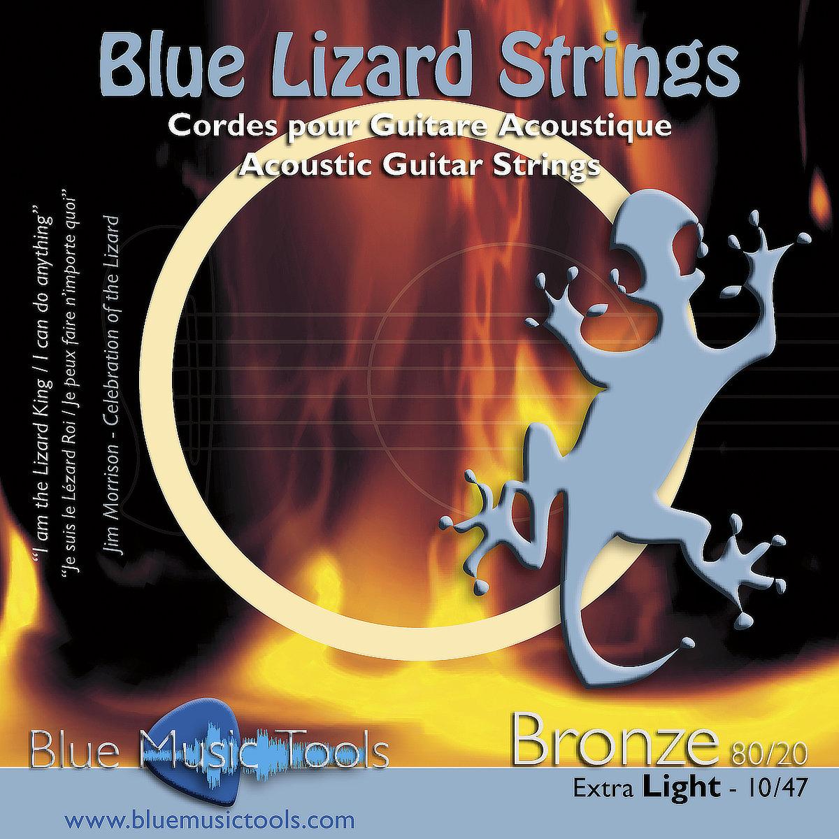 Cordes pour guitares acoustiques 10/47