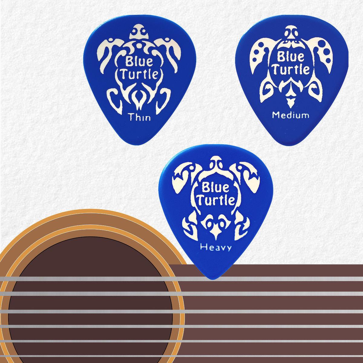 Médiators Blue Turtle Derin 500 - série Turtle